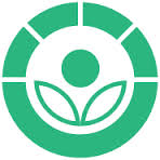 This is the radura symbol indicating a food has been irradiated to gid rid of microorganisms, and so make it safer to eat